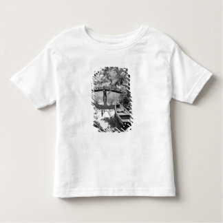 Asia, Japan, Hiroshima. Detail of Shukkei, en 2 Toddler T-shirt