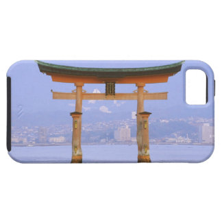 Asia, Japan, Hiroshima. Mivaiima. Torii Gate iPhone 5 Cover