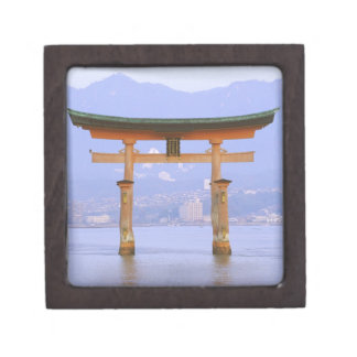 Asia, Japan, Hiroshima. Mivaiima. Torii Gate Gift Box