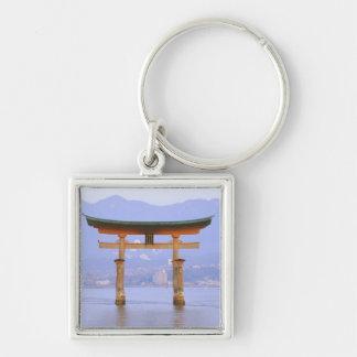 Asia, Japan, Hiroshima. Mivaiima. Torii Gate Keychain