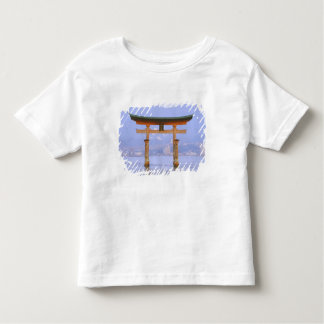 Asia, Japan, Hiroshima. Mivaiima. Torii Gate Toddler T-shirt
