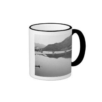 Asia Japan Iwakuni Fishermen and historic Coffee Mugs