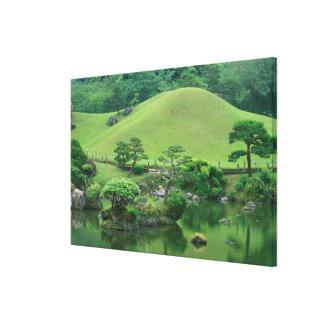 Asia, Japan, Kumamoto, Suizenji Koen Canvas Print