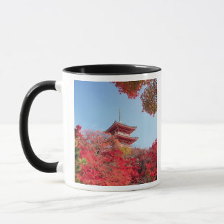 Asia, Japan, Kyoto. Autumn Colour Mug