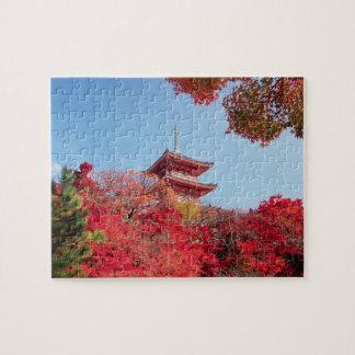 Asia, Japan, Kyoto. Autumn Colour Puzzle
