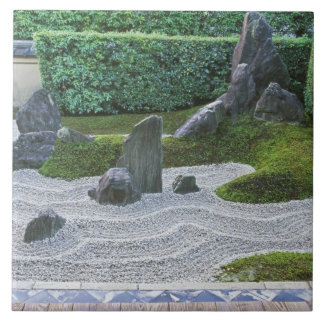 Asia, Japan, Kyoto, Daitokuji Temple, Zuiho-in Ceramic Tiles