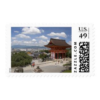 Asia, Japan, Kyoto, Kiyomizu Temple Postage