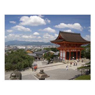 Asia, Japan, Kyoto, Kiyomizu Temple Postcard