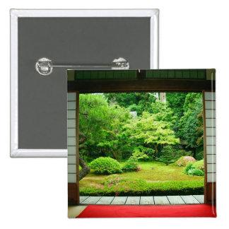 Asia, Japan, Kyoto. Zen Garden 2 Button