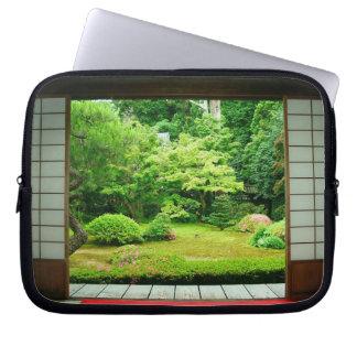Asia, Japan, Kyoto. Zen Garden 2 Laptop Sleeve