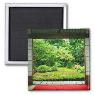 Asia, Japan, Kyoto. Zen Garden 2 Fridge Magnet