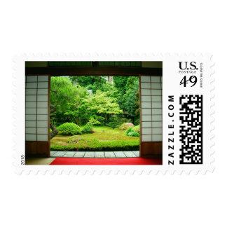 Asia, Japan, Kyoto. Zen Garden 2 Postage