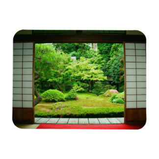 Asia, Japan, Kyoto. Zen Garden 2 Magnets