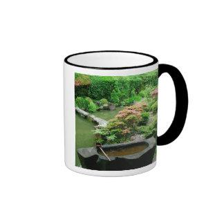 Asia, Japan, Kyoto. Zen Garden Coffee Mugs