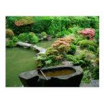 Asia, Japan, Kyoto. Zen Garden Post Cards