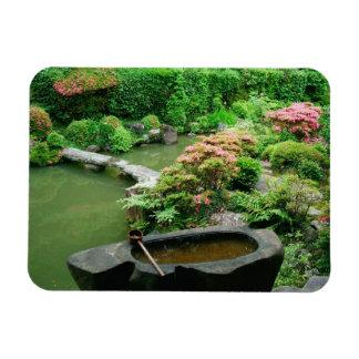 Asia, Japan, Kyoto. Zen Garden Flexible Magnets