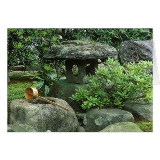 Asia, Japan, Nagasaki, Hirado, Samurai Residence Greeting Card