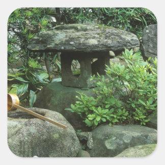 Asia, Japan, Nagasaki, Hirado, Samurai Residence Square Sticker