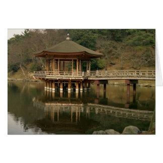 Asia, Japan, Nara, Temple in Nara Card