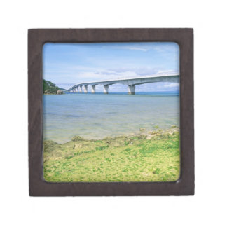 Asia, Japan, Okinawa, Kouri Bridge Gift Box