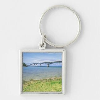 Asia, Japan, Okinawa, Kouri Bridge Keychain