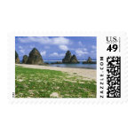 Asia, Japan, Okinawa, Yambaru Coastline, Sea Postage Stamp
