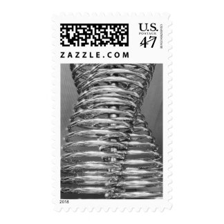 Asia, Japan, Tokyo. Coiled pipe, Tepco Energy 2 Postage Stamp