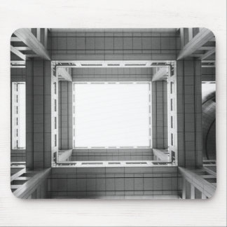 Asia, Japan, Tokyo. Fuji TV Building, looking Mouse Pad