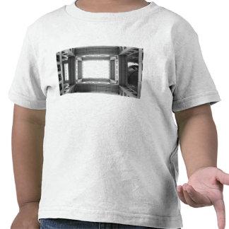 Asia, Japan, Tokyo. Fuji TV Building, looking T Shirts