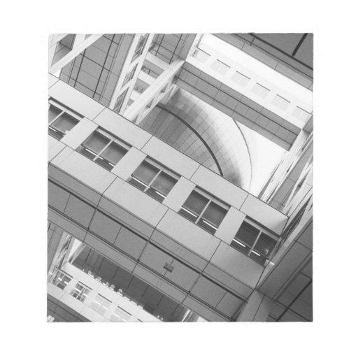 Asia, Japan, Tokyo. Fuji TV Building, Odaiba Note Pad