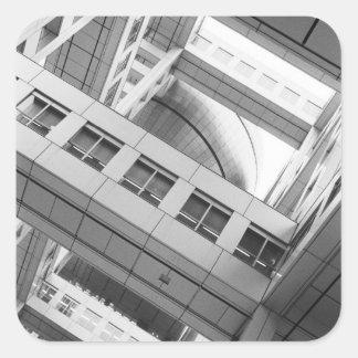 Asia, Japan, Tokyo. Fuji TV Building, Odaiba Sticker