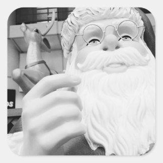 Asia, Japan, Tokyo. Santa Claus in Ikebukuro Square Sticker