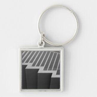 Asia, Japan, Tokyo. Stairs at the Tokyo 2 Keychain