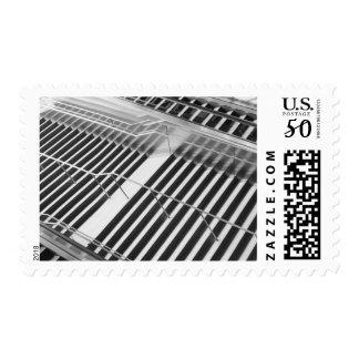 Asia, Japan, Tokyo. Stairs, Tokyo International Postage