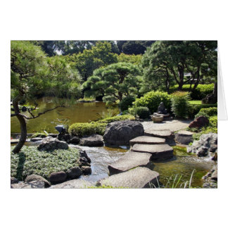 Asia, Japan, Tokyo. The Japanese Garden at the Card