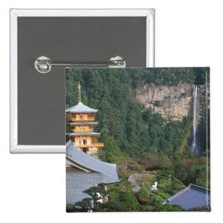 Asia, Japan, Wakayama, Katsuura, Kumano Nachi Button