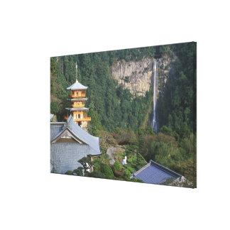 Asia, Japan, Wakayama, Katsuura, Kumano Nachi Canvas Print