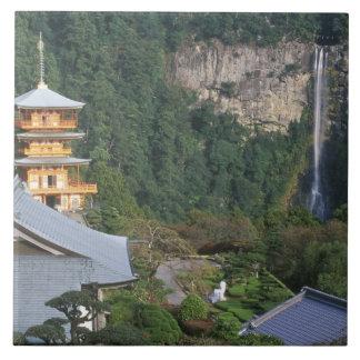 Asia, Japan, Wakayama, Katsuura, Kumano Nachi Tile