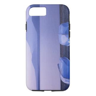 Asia, Japan, Yamanashi, Rowboats on Motosu Lake iPhone 8/7 Case