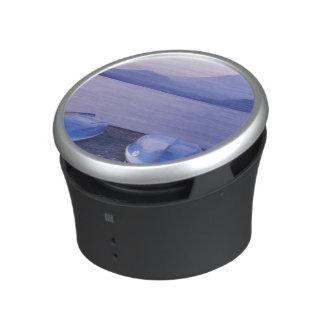 Asia, Japan, Yamanashi, Rowboats on Motosu Lake Bluetooth Speaker