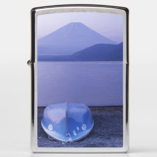 Asia, Japan, Yamanashi, Rowboats on Motosu Lake Zippo Lighter