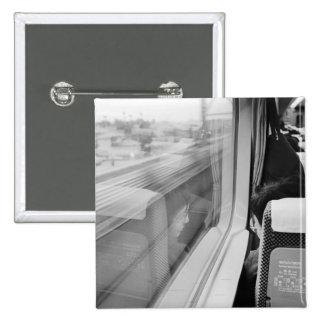 Asia, Japón. A bordo del tren de bala de Shinkanse Pin Cuadrada 5 Cm
