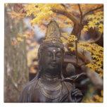 Asia, Japón, Buda Azulejo Cuadrado Grande