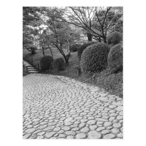 Asia, Japón, Hiroshima. Shukkei, jardín del en Tarjetas Postales