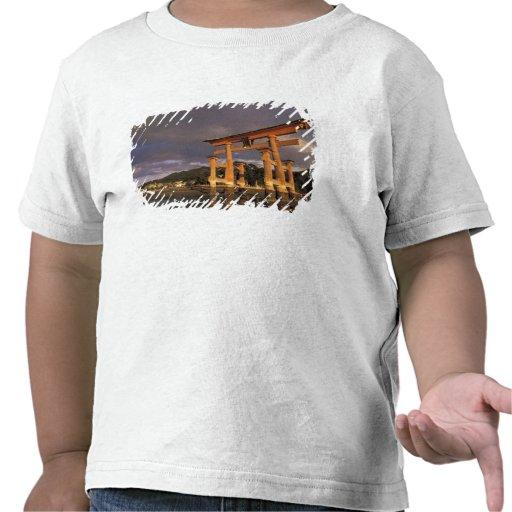 Asia, Japón, Honshu occidental, Miya, isla de Camiseta