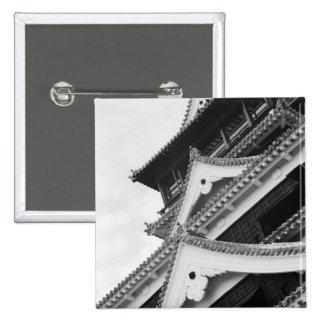Asia, Japón, Kumamoto. Detalle del Kumamoto, Pin Cuadrada 5 Cm