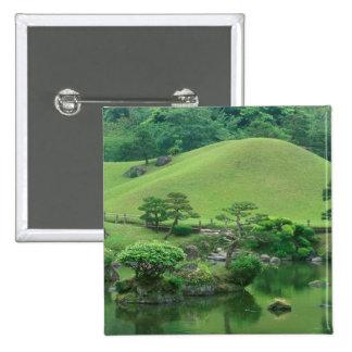 Asia, Japón, Kumamoto, Suizenji Koen Pin Cuadrada 5 Cm