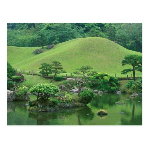 Asia, Japón, Kumamoto, Suizenji Koen Tarjetas Postales