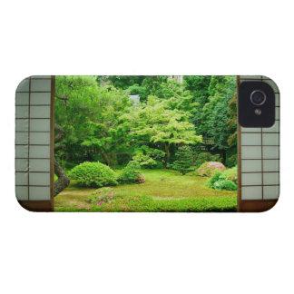 Asia, Japón, Kyoto. Jardín 2 del zen Case-Mate iPhone 4 Cárcasas