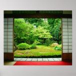 Asia, Japón, Kyoto. Jardín 2 del zen Impresiones